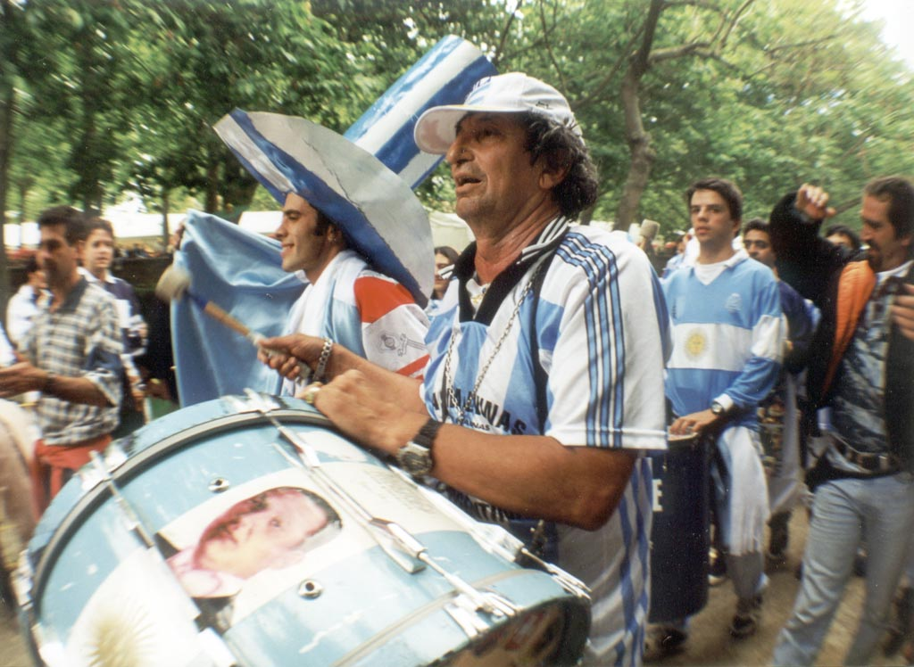 Argentine drummer, Toulouse