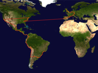 The 2014 route