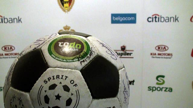 The Ball at the Belgian FA
