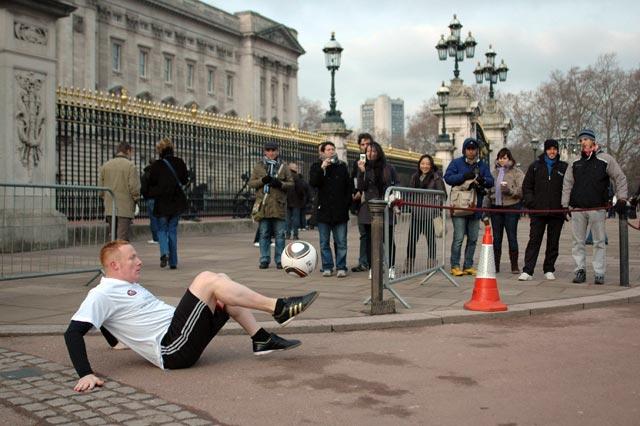 Dan Magness at Buckingham Palace
