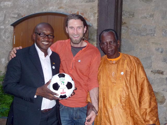 Andrew in Germany with a delegation from Kati