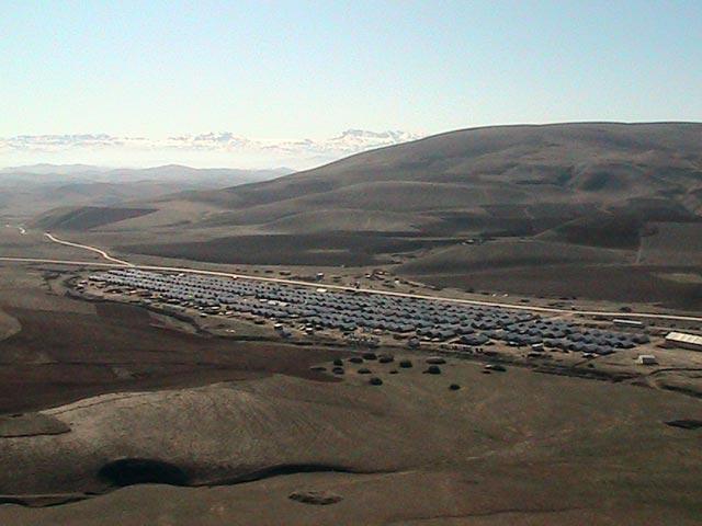 The Sozma Qala camp