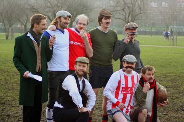 The veterans team