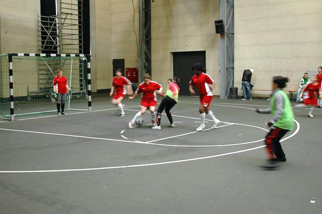 A girls game with The Ball