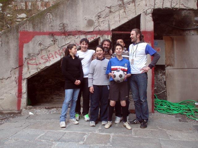 """The team from """"La Comunita"""""""