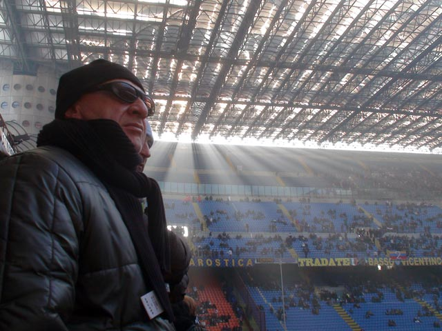 The San Siro - a cathedral of football