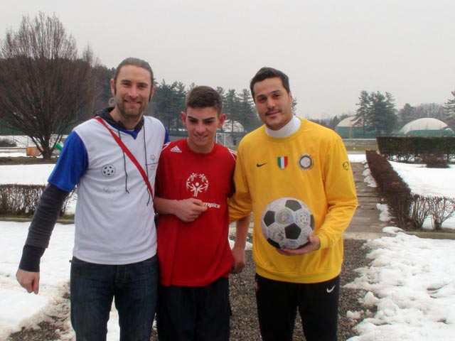 Andrew, Matteo, Julio and The Ball
