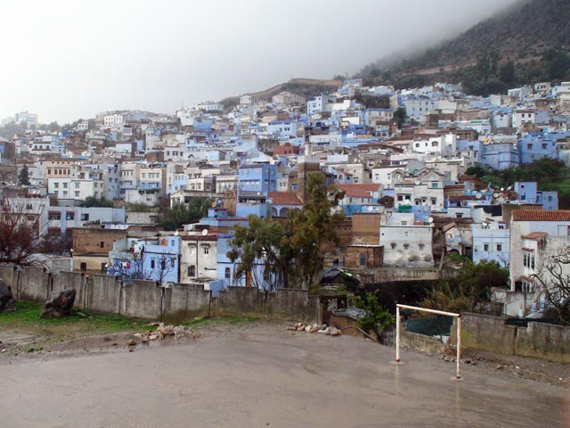 The pitch in Chefchaouen
