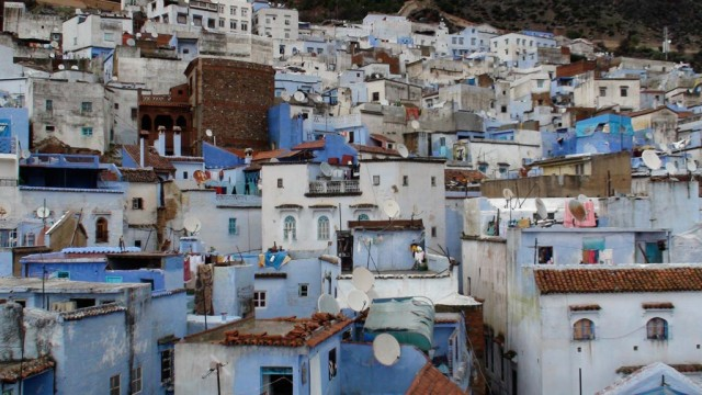 A view of Chefchaouen