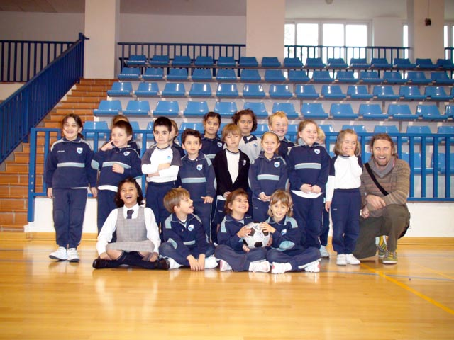 The team at the Laude school