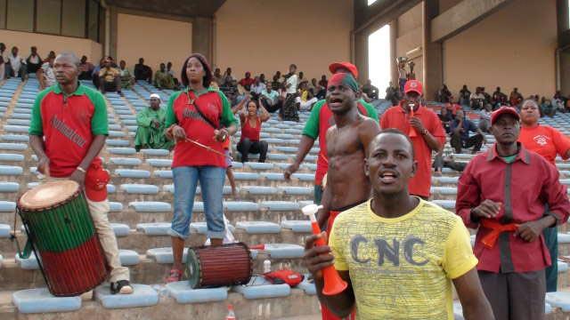 FC Djoliba drummers