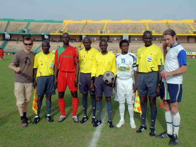 Captains, officials and The Ball