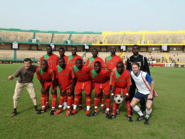 The Ball with Malian champions FC Djoliba