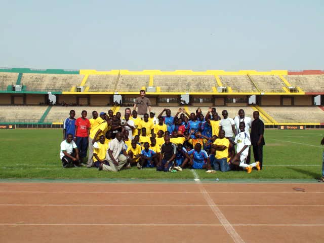 The Unified Football teams
