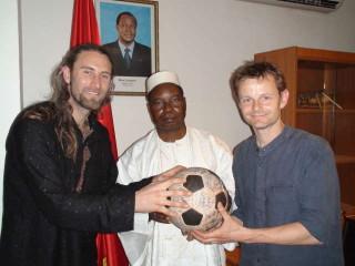 Ambassadour Extraordinaire Topan and The Ball