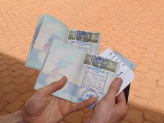 Our visas for Burkina Faso