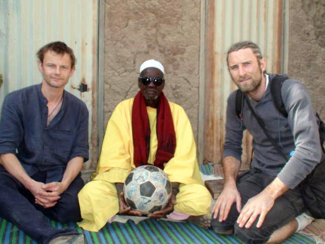 Phil, Andrew and a marabout in Djenné