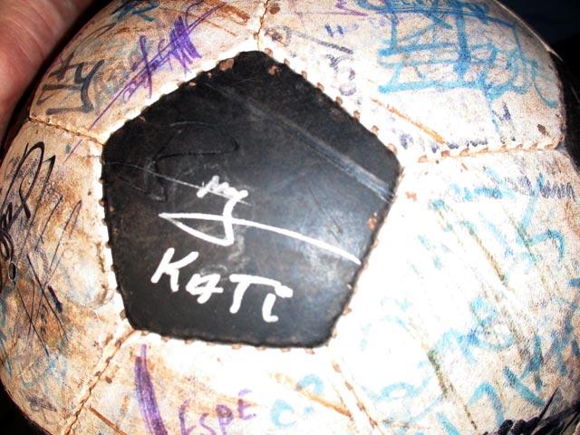 Kati on The Ball