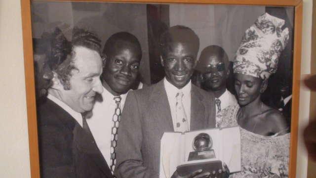 Salif Keita wins the Ballon d'or Africain