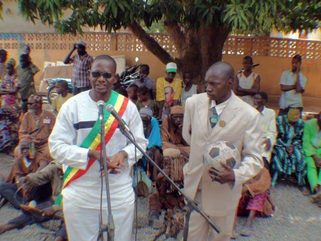 The Mayor of Siby speaks