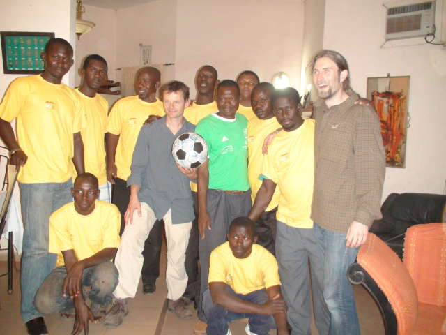 Special Olympics greet The Ball in Mali