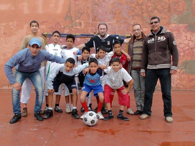 One team at L'Heure Joyeuse