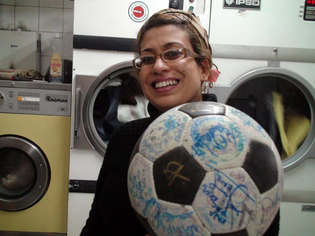 A laundry in Casablanca