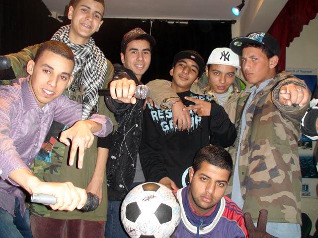Rappers from Sidi Moumen