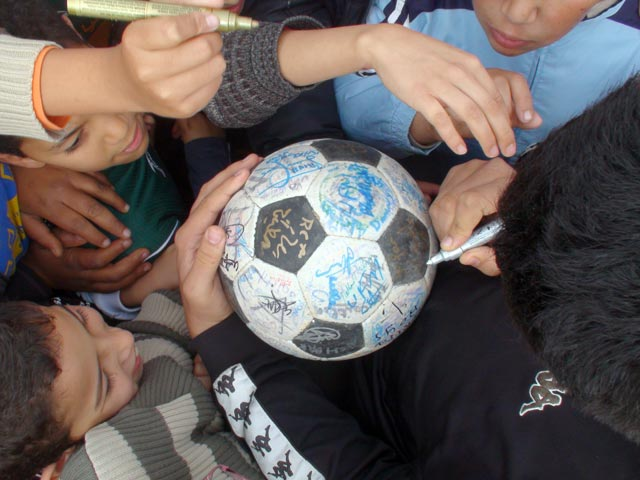 Everyone wants to sign The Ball