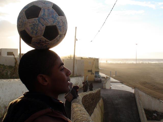 The Ball gets ahead