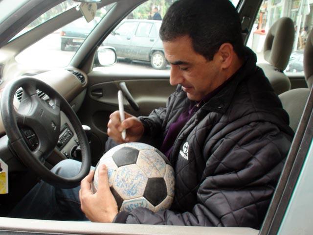 Football commentator Hicham Jdran