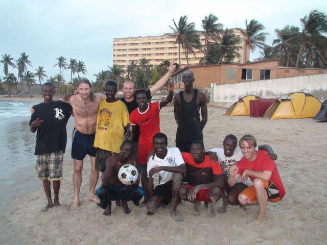 The Ngor beach team