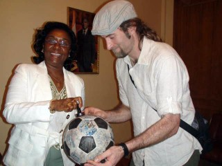 The Ivory Coast ambassador gives The Ball the stamp of approval
