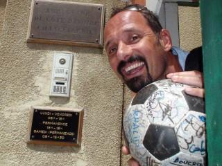 Richard and The Ball at the Ivory Coast embassy