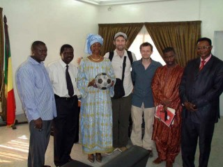 The Ball meets the Malian ambassador