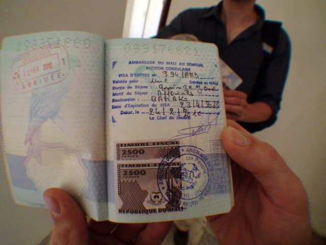 Mali visa granted