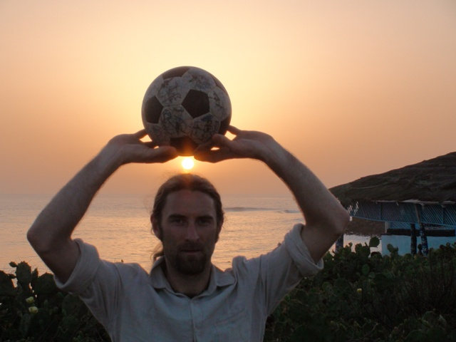 The sun sets on The Ball's time in Senegal