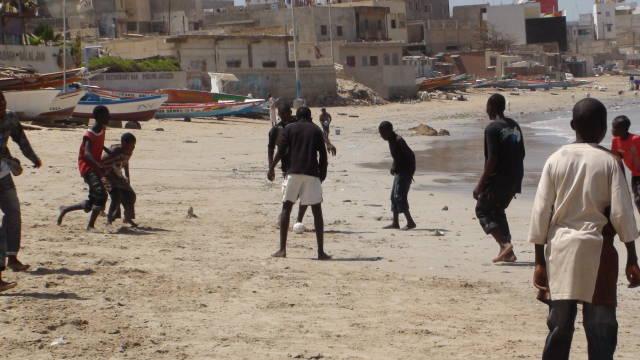 Beach football is everywhere