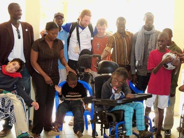 Special needs children meet The Ball