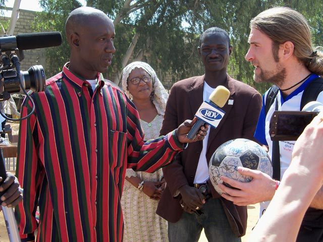 Andrew interviewed at Talibou Dabo