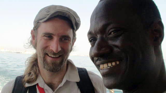 Andrew and Mademba Mbacké