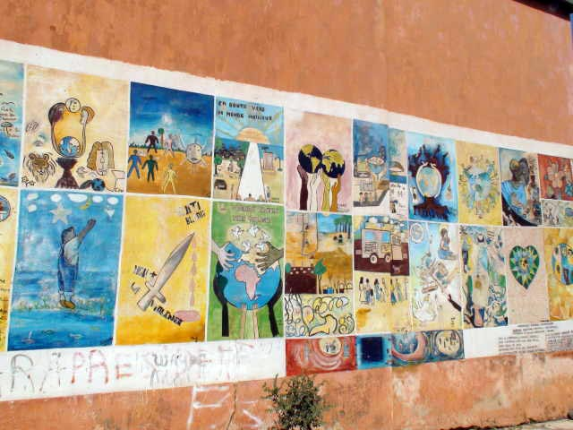 Peace paintings: let freedom ring