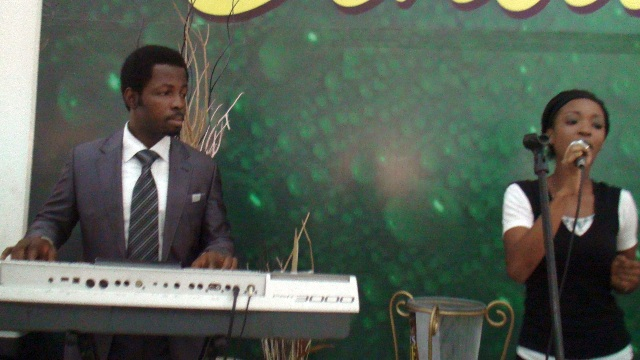 Gospel music as The Ball goes to Church
