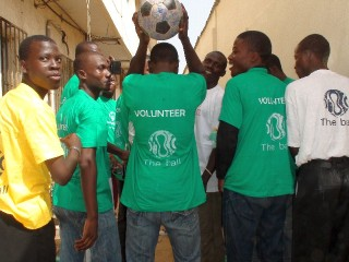 Volunteers with The Ball