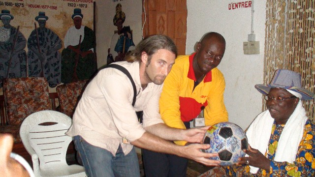 The Voodoo King blesses The Ball