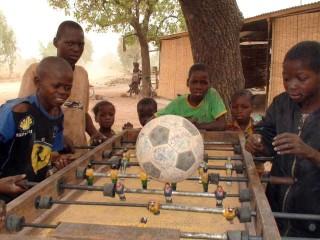 Table football in Kalzi