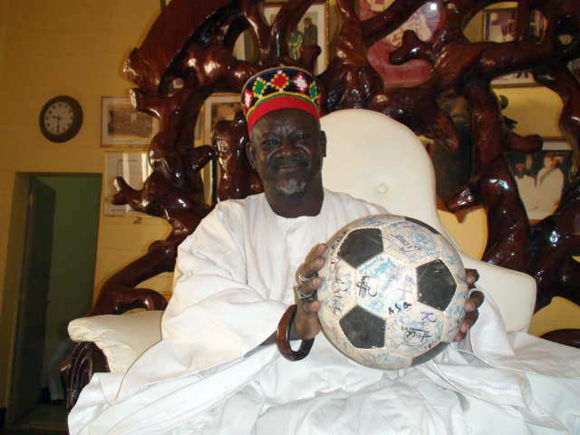 The King of all Kings with The Ball of all Balls