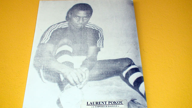 Laurent Pokou back then