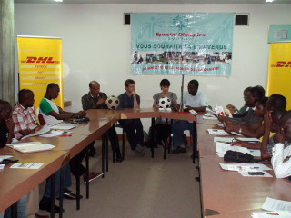 Press conference at the Ministry of Sport