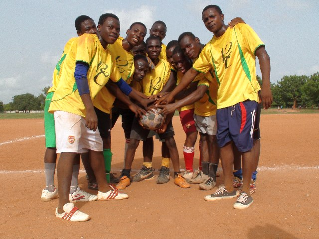 The yellow team wins the match